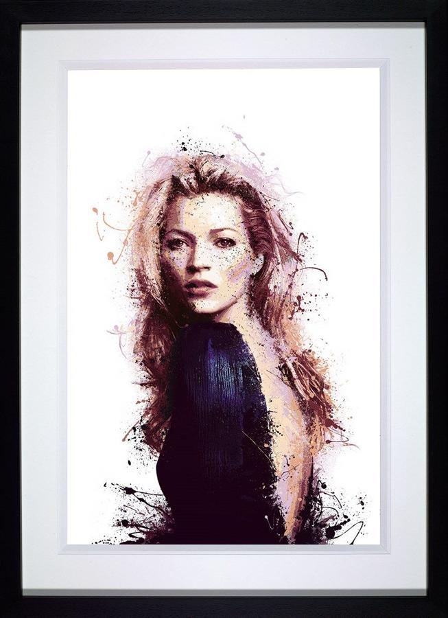 Modern Muse Framed Art Print by Daniel Mernagh