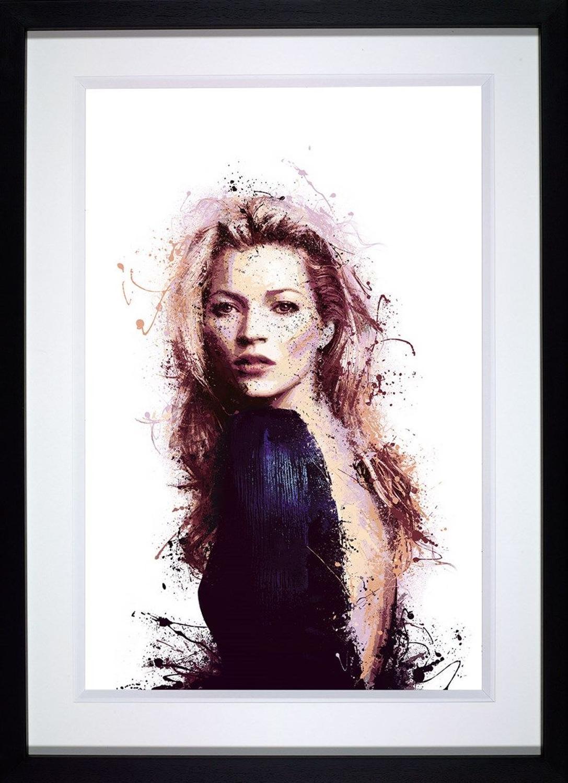 Modern Muse Framed Art Print by Daniel Mernagh