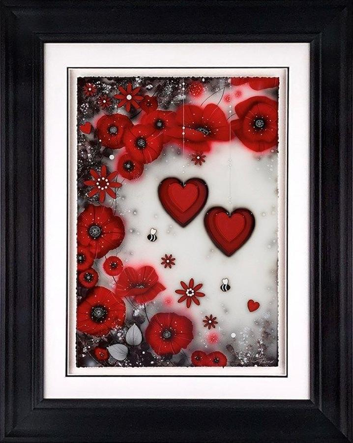 Forever Loved Framed Art Print by Kealey Farmer