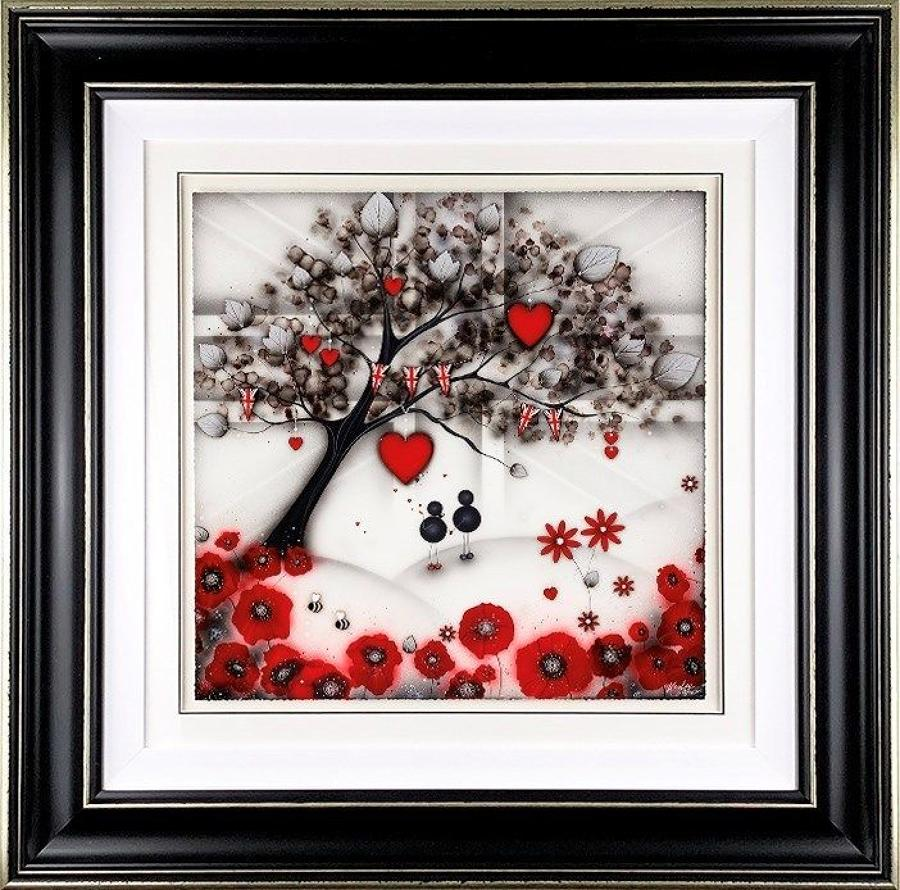 Our Remembrance Tree Framed Art Print by Kealey Farmer