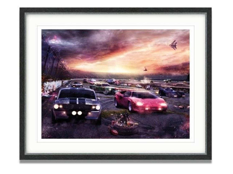 Petrolheads II Framed Art Print By Mark Davies