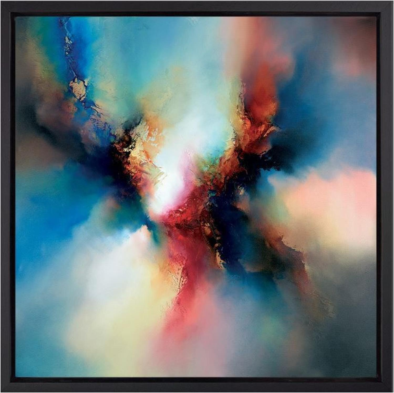 Rhythm of the Beyond Framed Art Print by Simon Kenny