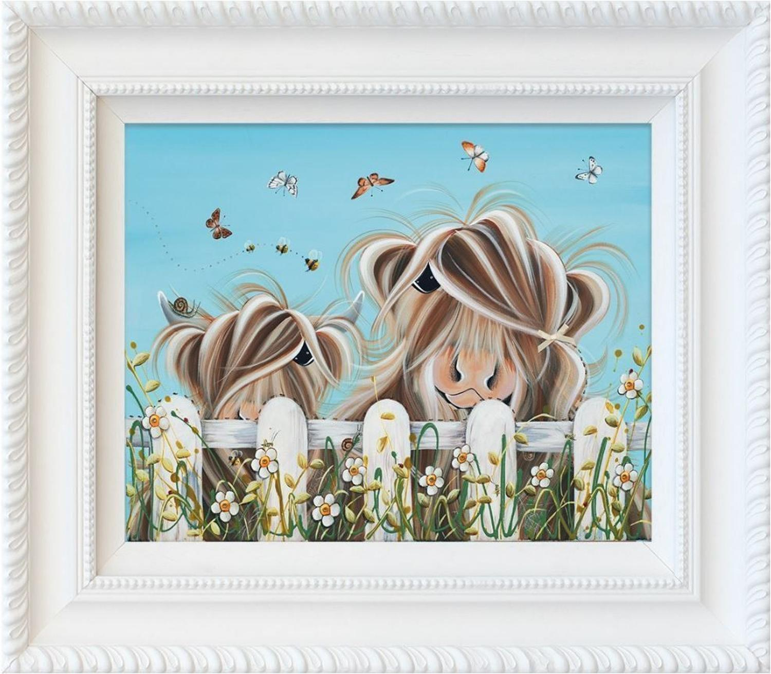 Bug Life Framed Art Print by Jennifer Hogwood