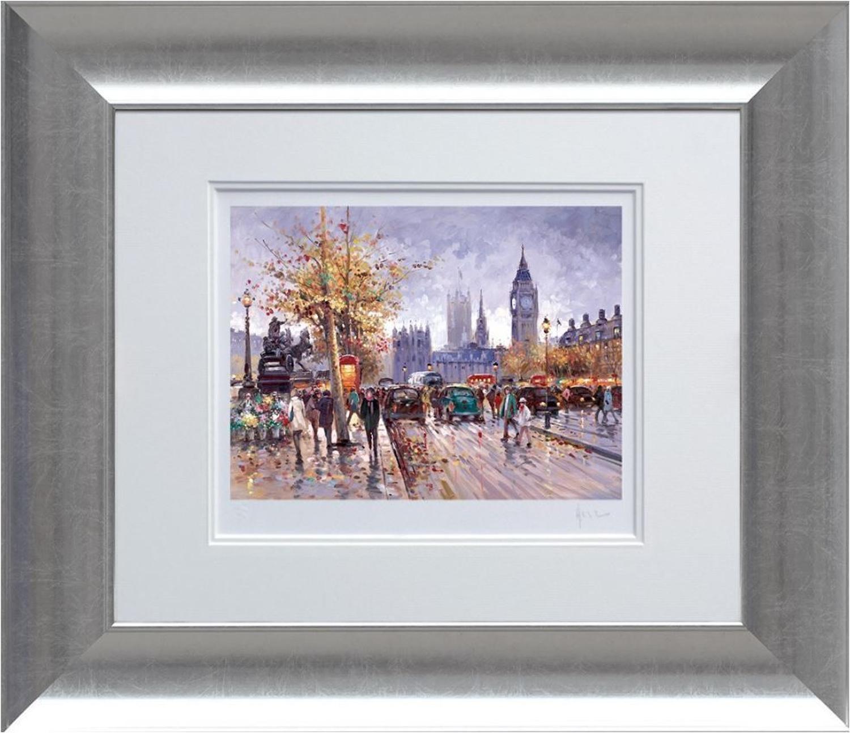 Henderson Cisz - Weekend in Westminster - Framed Art Print