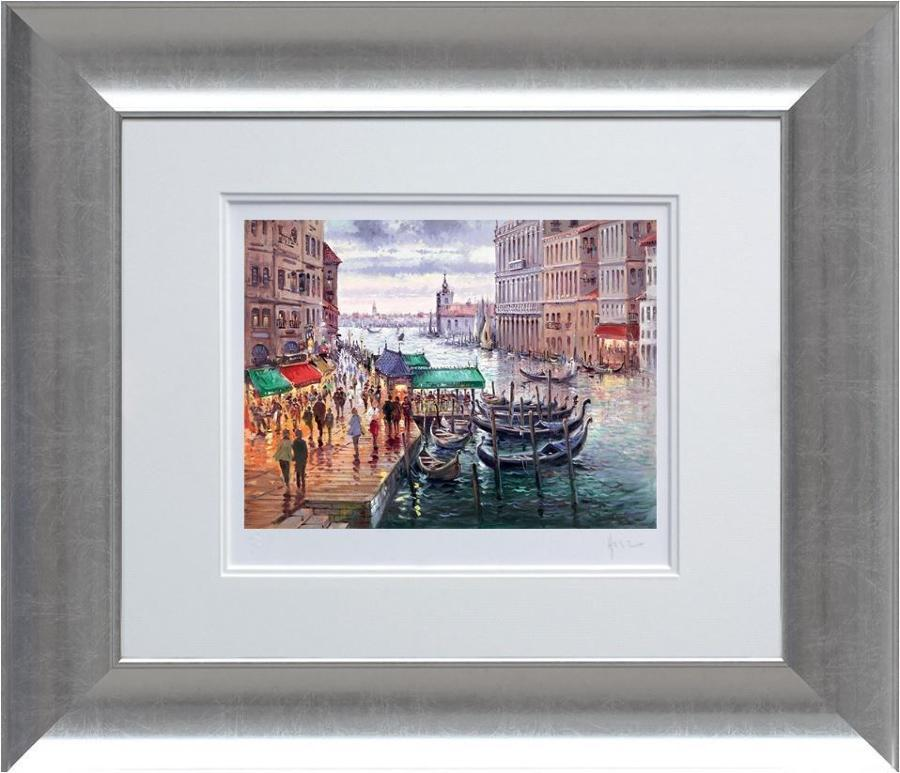 Henderson Cisz - Vacation in Venice - Framed Art Print
