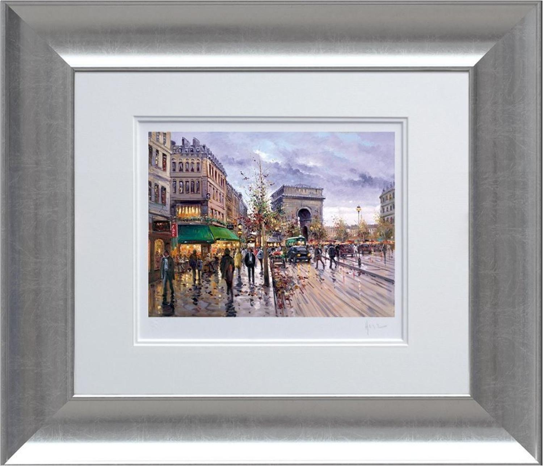 Henderson Cisz - Postcard from Paris - Framed Art Print