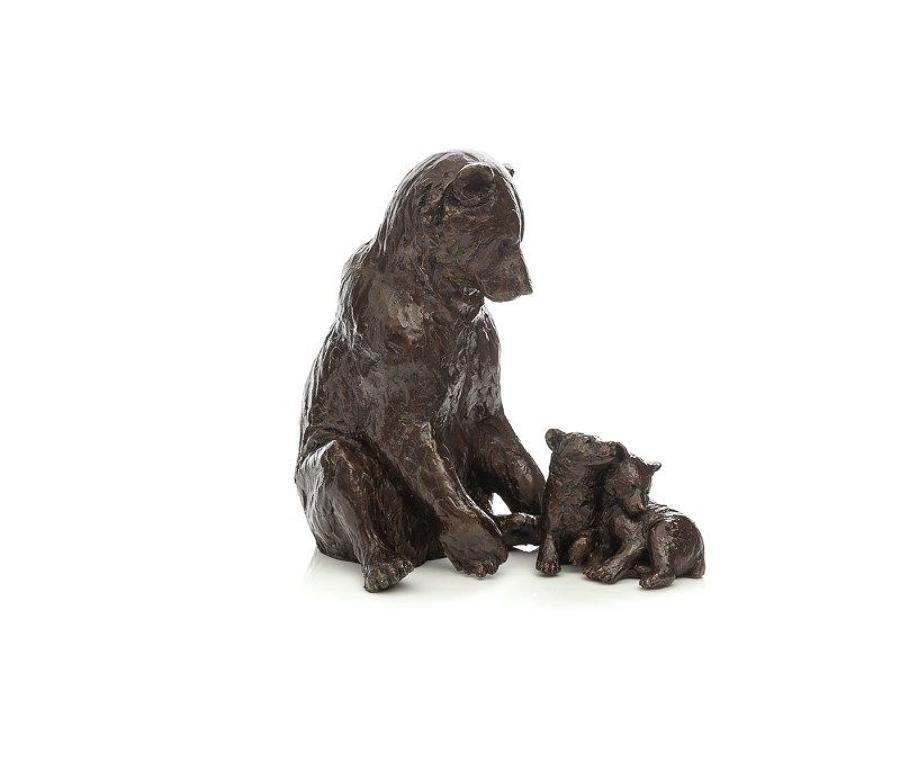 Family Affair by Michael Simpson- Bronze Sculpture