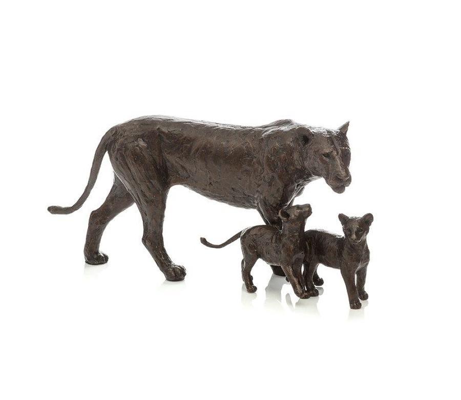 Cub Scouts by Michael Simpson-Bronze Sculpture
