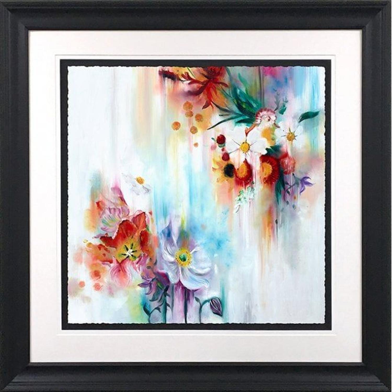 Katy Jade Dobson-Spring Blooms Framed Art Print