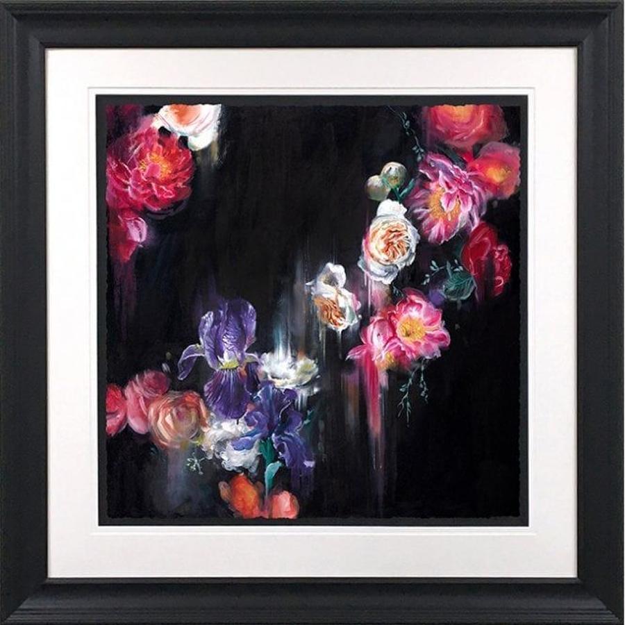 Katy Jade Dobson - Dark Flora- Framed Art Print