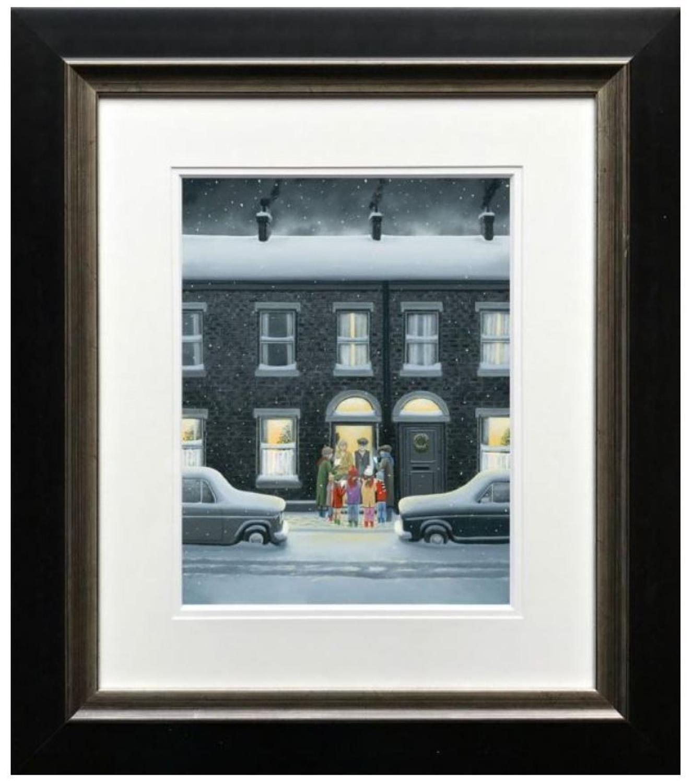 A Christmas Carol Framed Paper Edition by Leigh Lambert