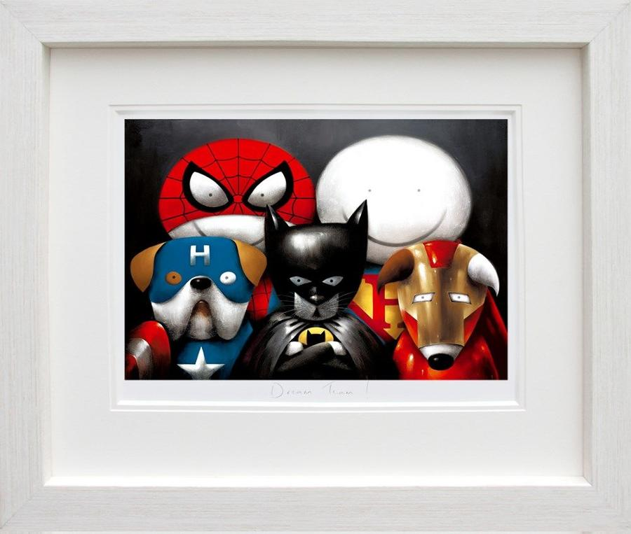 Doug Hyde-Dream Team! Framed Art Print