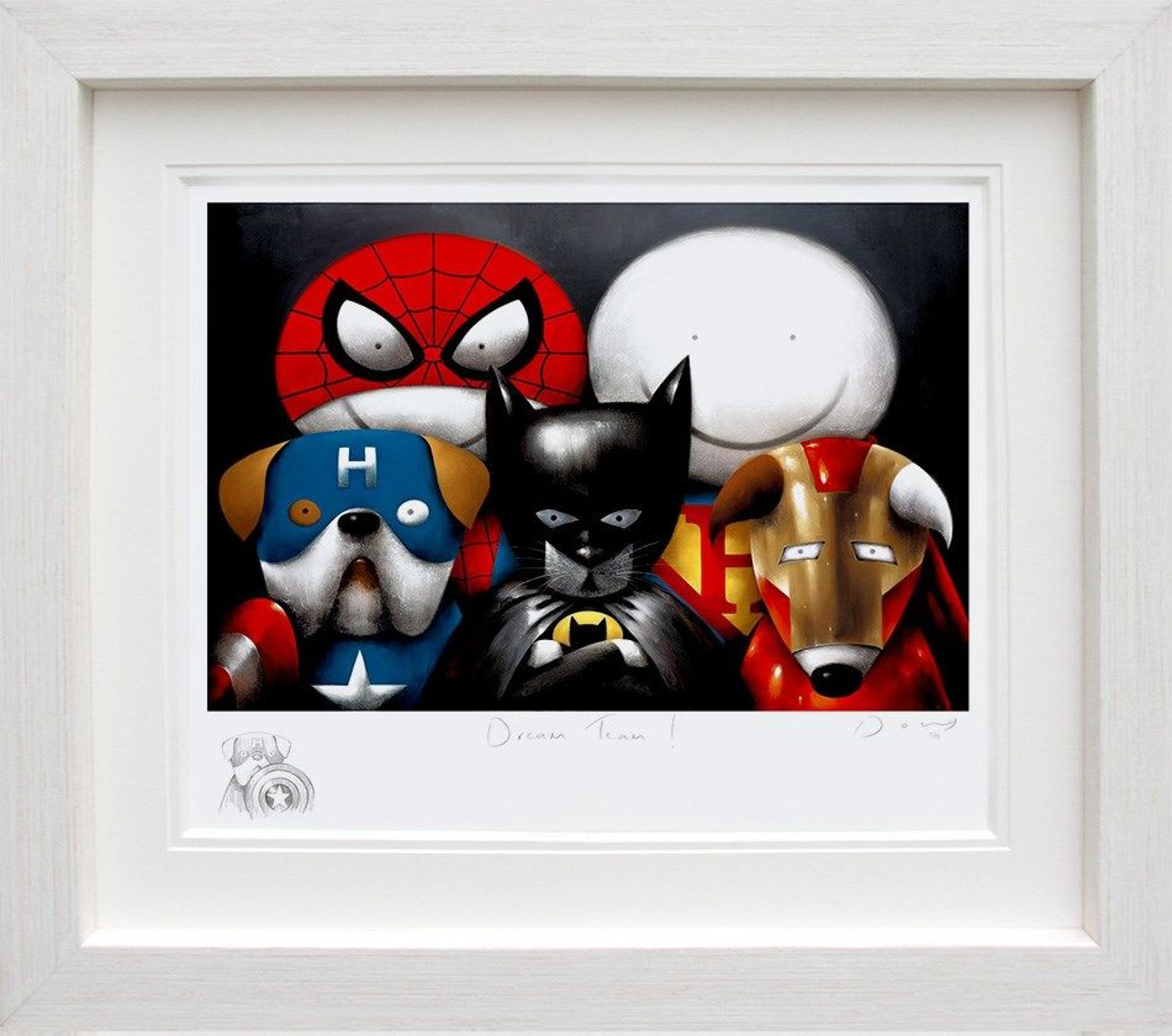 Doug Hyde-Dream Team! (Remarq) Framed Art Print