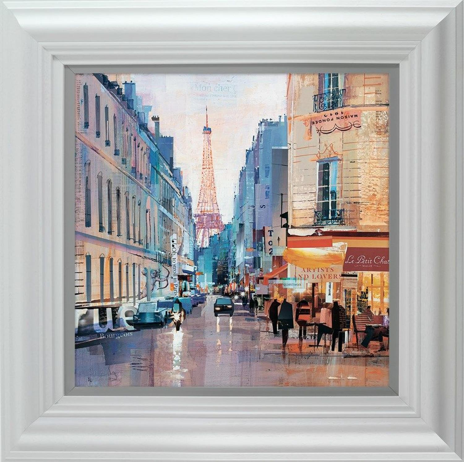 Love Rue (Paris) by Tom Butler Framed Art Print