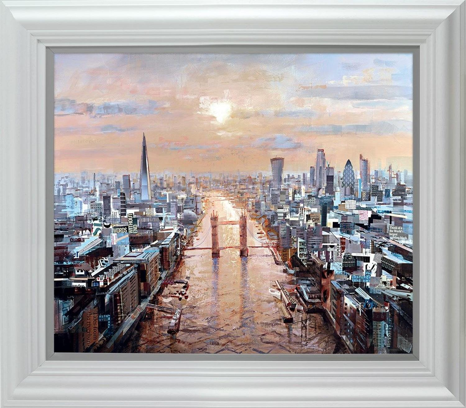 Last Rays ( London) by Tom Butler Framed Art Print