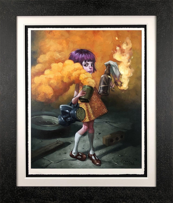 A Riot of My Own  Framed Art Print by Craig Davison