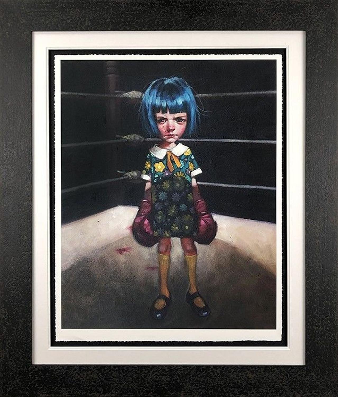 Craig Davison- Dig Deep Framed Art Print
