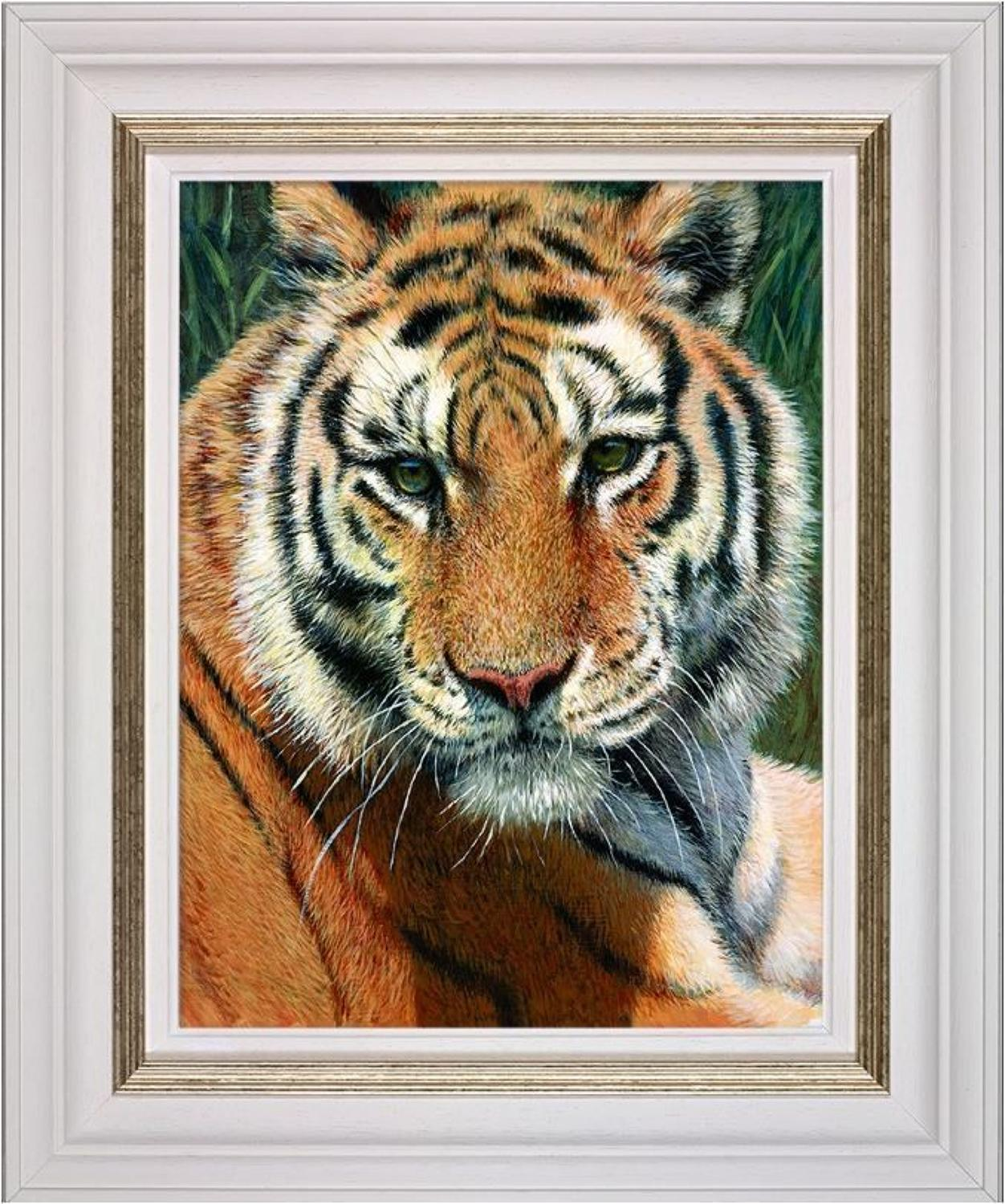 Wild Thing Framed Art Print by Tony Forrest