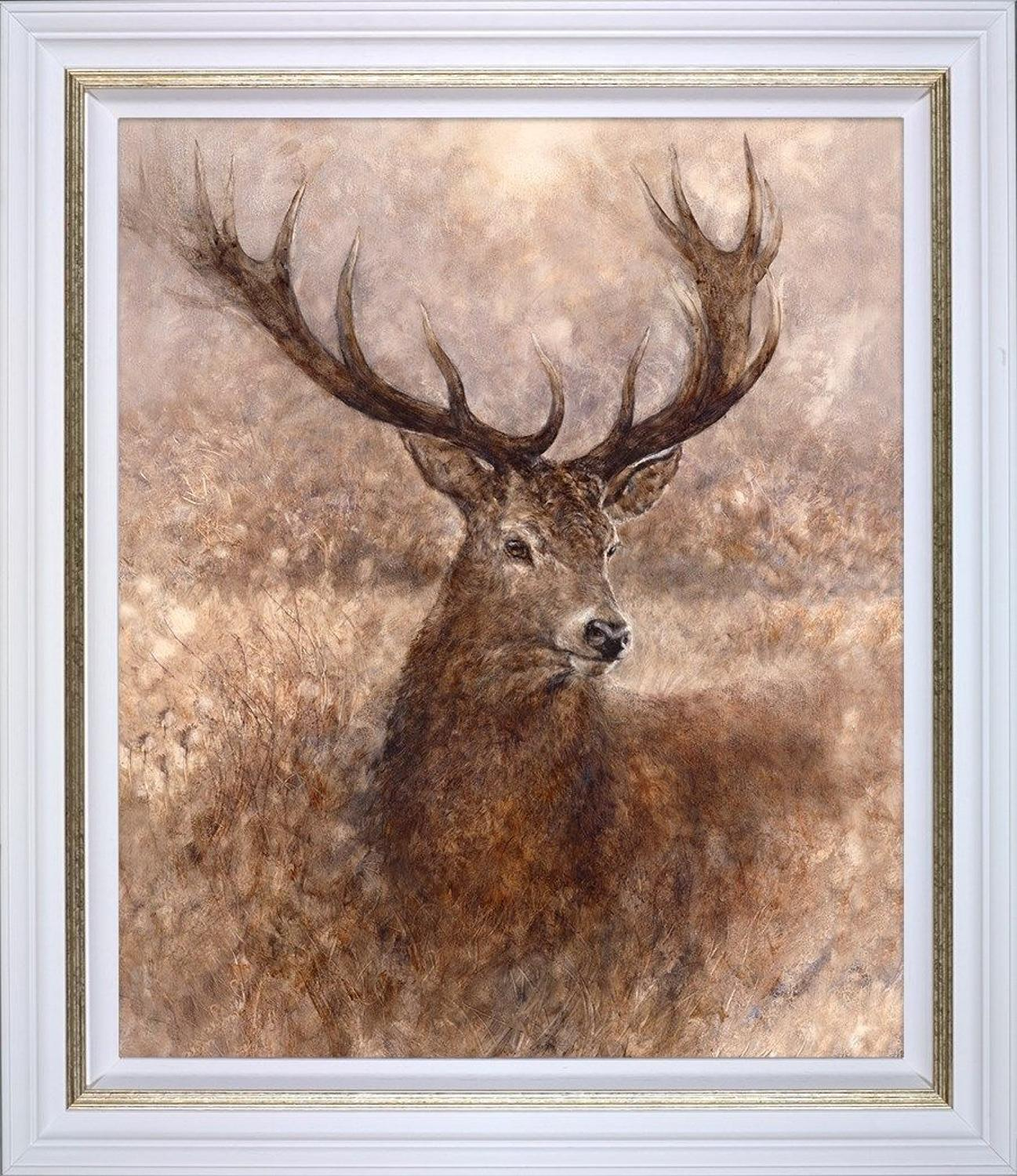 Gary Benfield - Noble- Framed Canvas Print