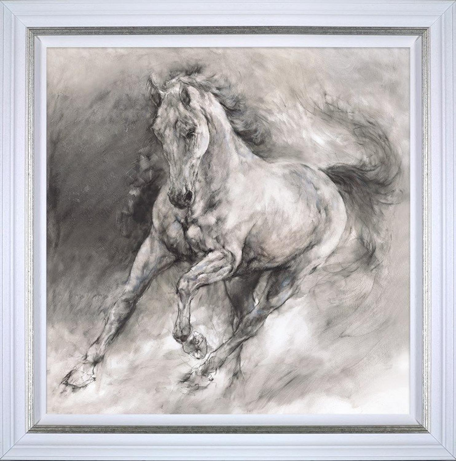 Gary Benfield- Storm - Framed Art Print