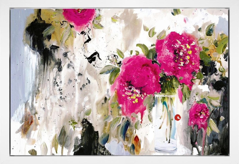 Danielle O'Connor Akiyama The Open Window - Framed Canvas Art Print