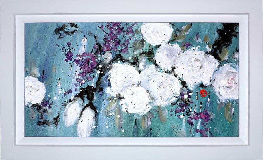 Danielle O'Connor Akiyama Pure Love Framed Art Print