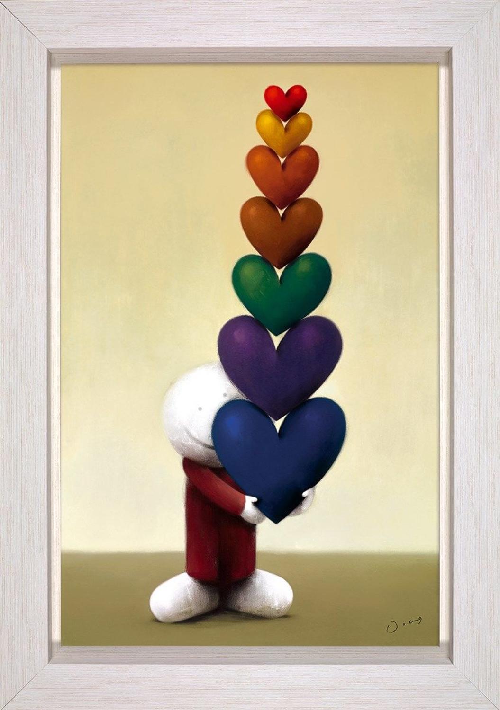 Doug Hyde Every Kind of Love Framed Canvas Art Print