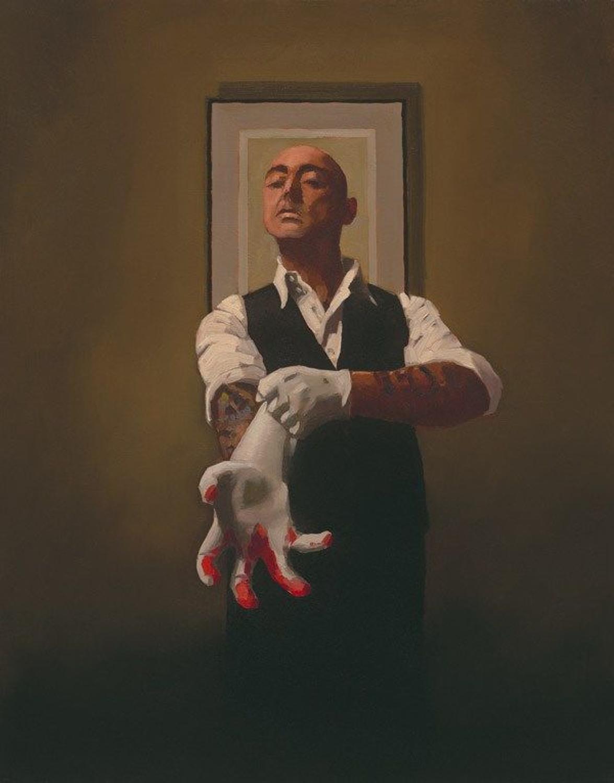 The Master Tattooist by Jack Vettriano Framed Art Print