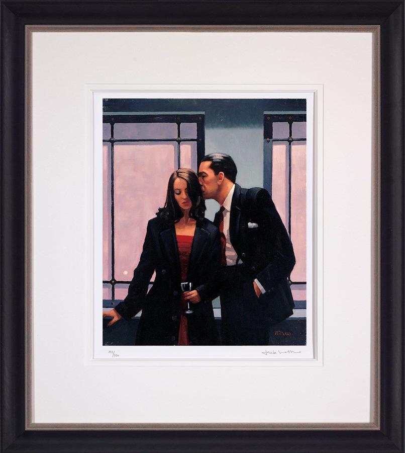 Jack Vettriano Contemplation of Betrayal Framed Art Print