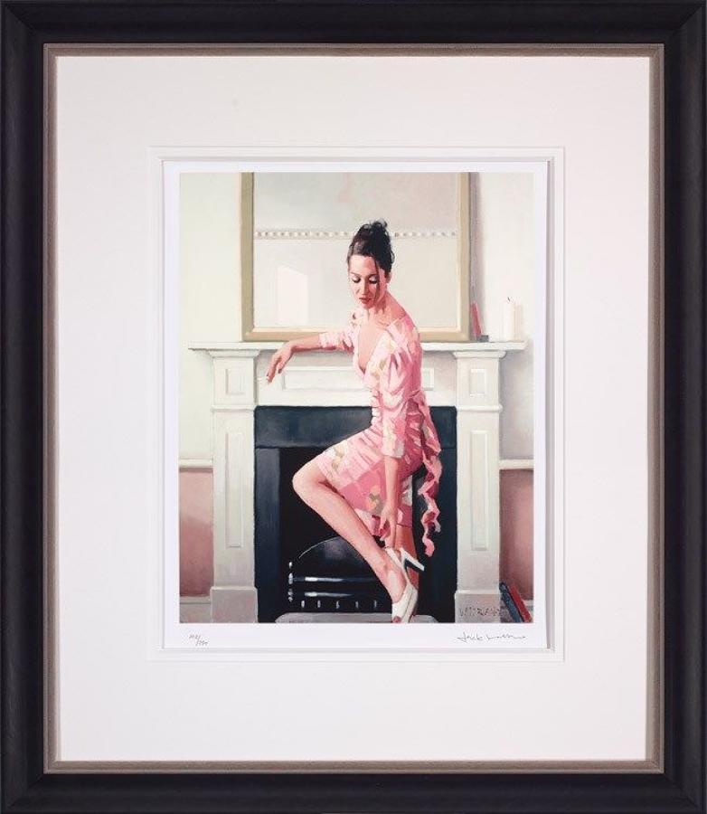 Jack Vettriano Models in Westwood Framed Art Print