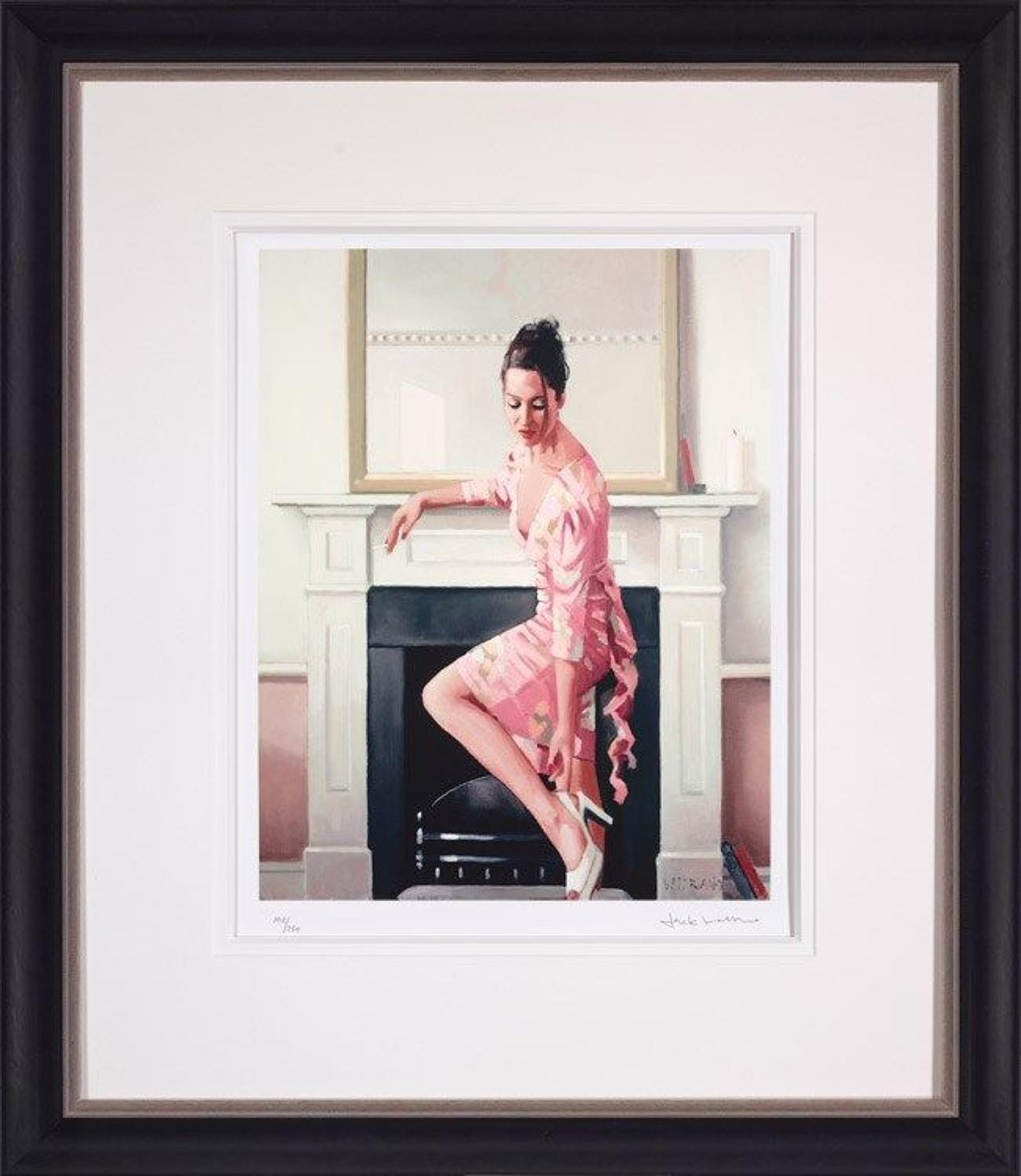 Jack Vettriano Models in Westwood Framed Art Print