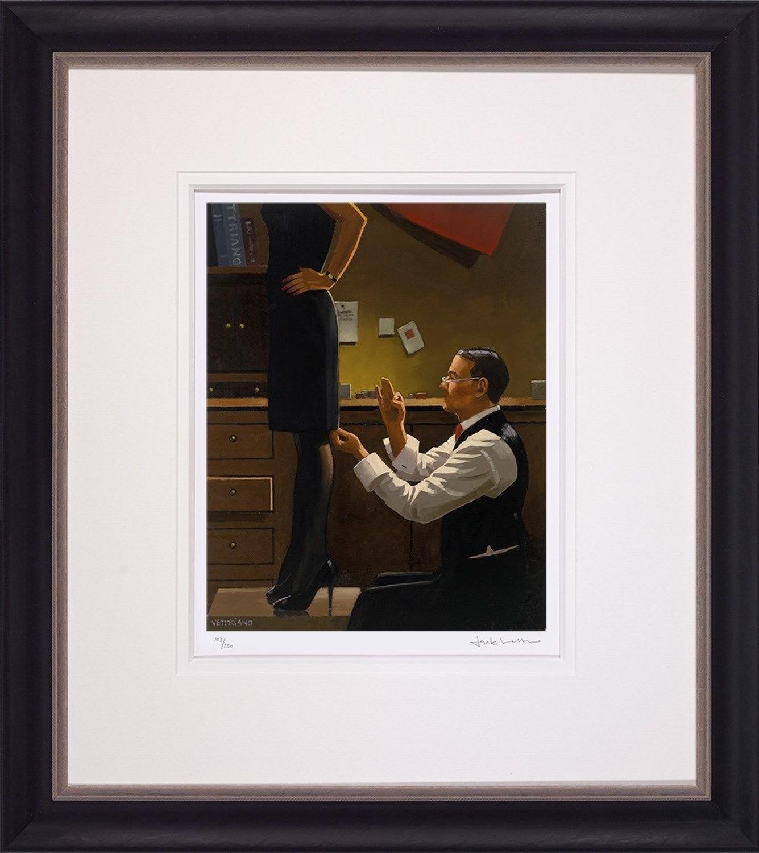 Jack Vettriano The Devoted Dressmaker Framed Art Print