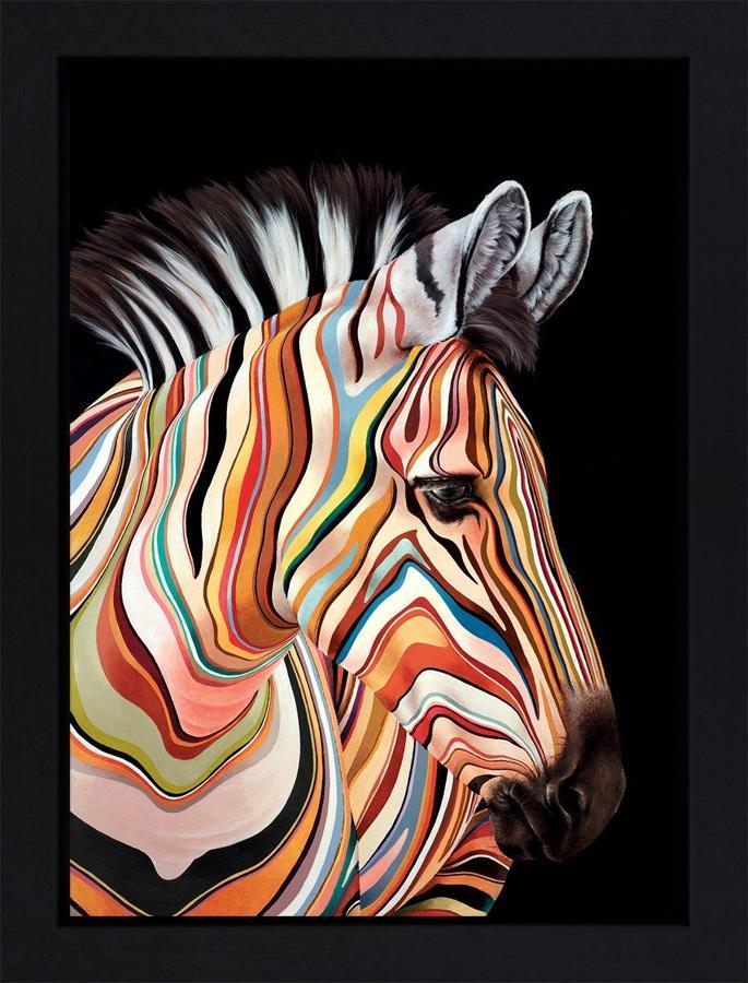 Hayley Goodhead PS I am Yours Box Canvas Framed Art Print