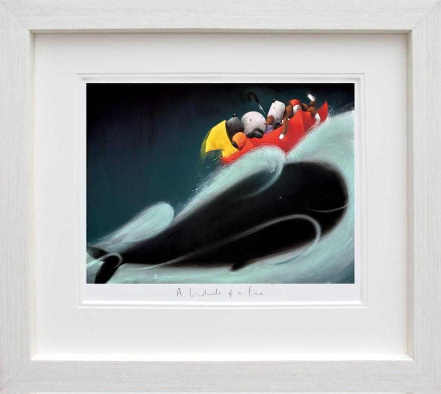 A Whale of a Time - Doug Hyde Framed Art Print