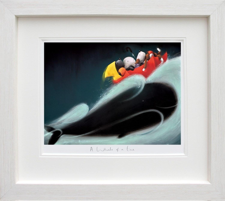 A Whale of a Time - Doug Hyde Framed Art Print