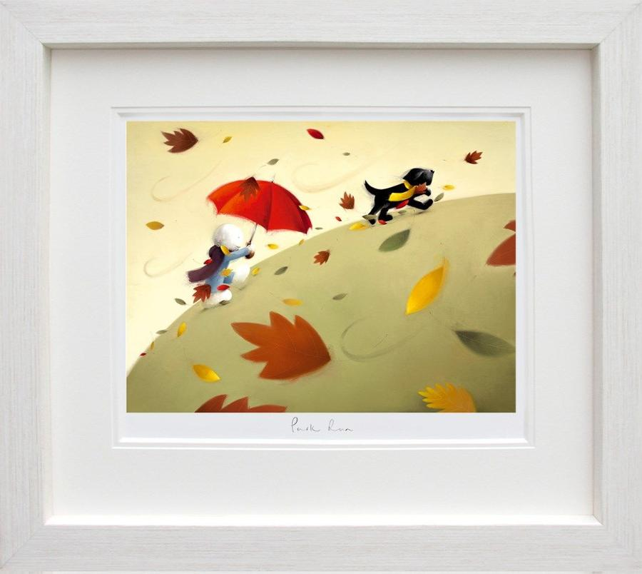 'Park Run'- Doug Hyde Framed Art Print
