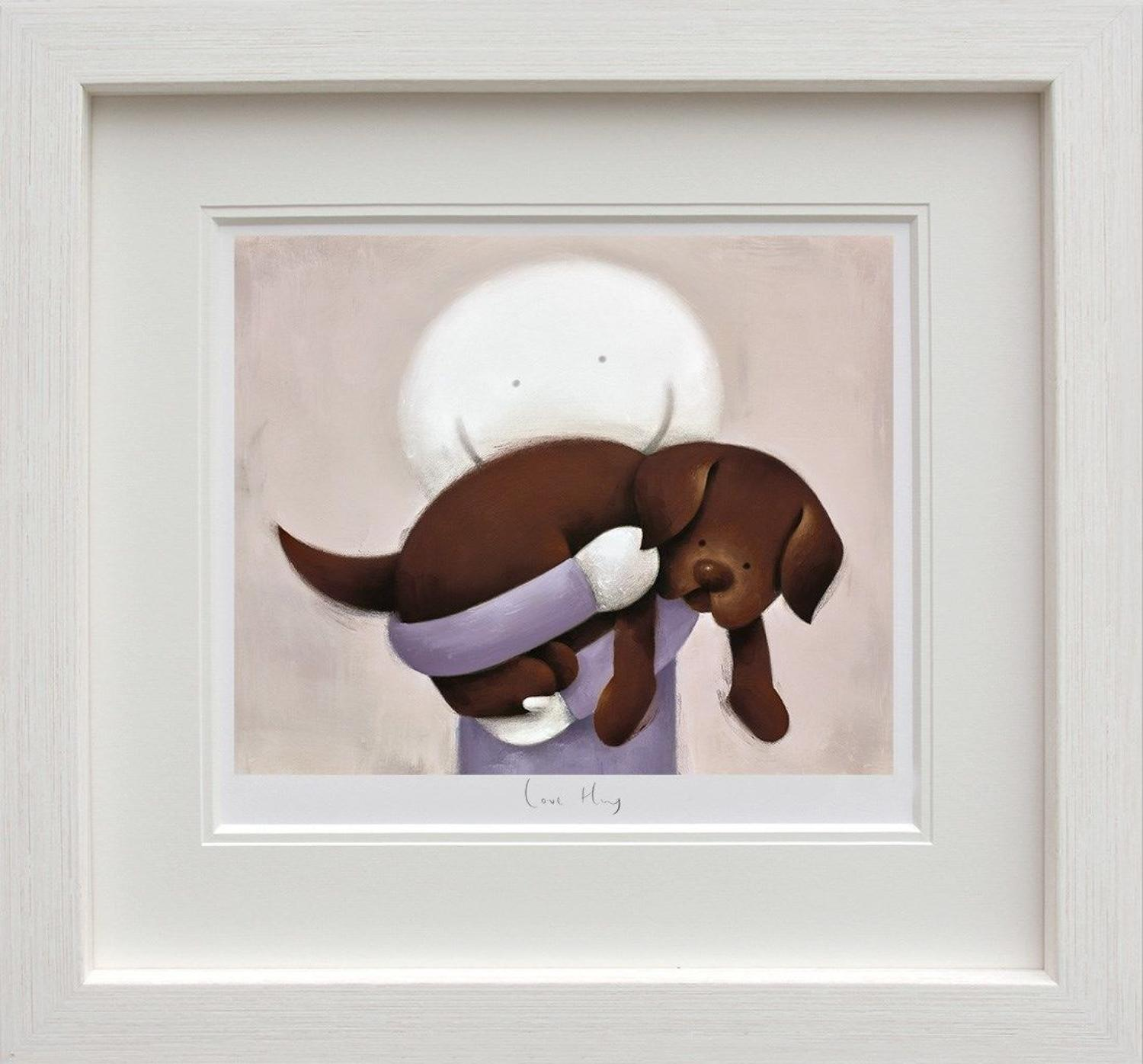 'Love Hug'- Doug Hyde Framed Art Print