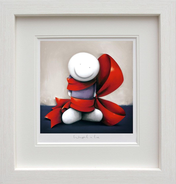Wrapped in Love - Doug Hyde Framed Art Print