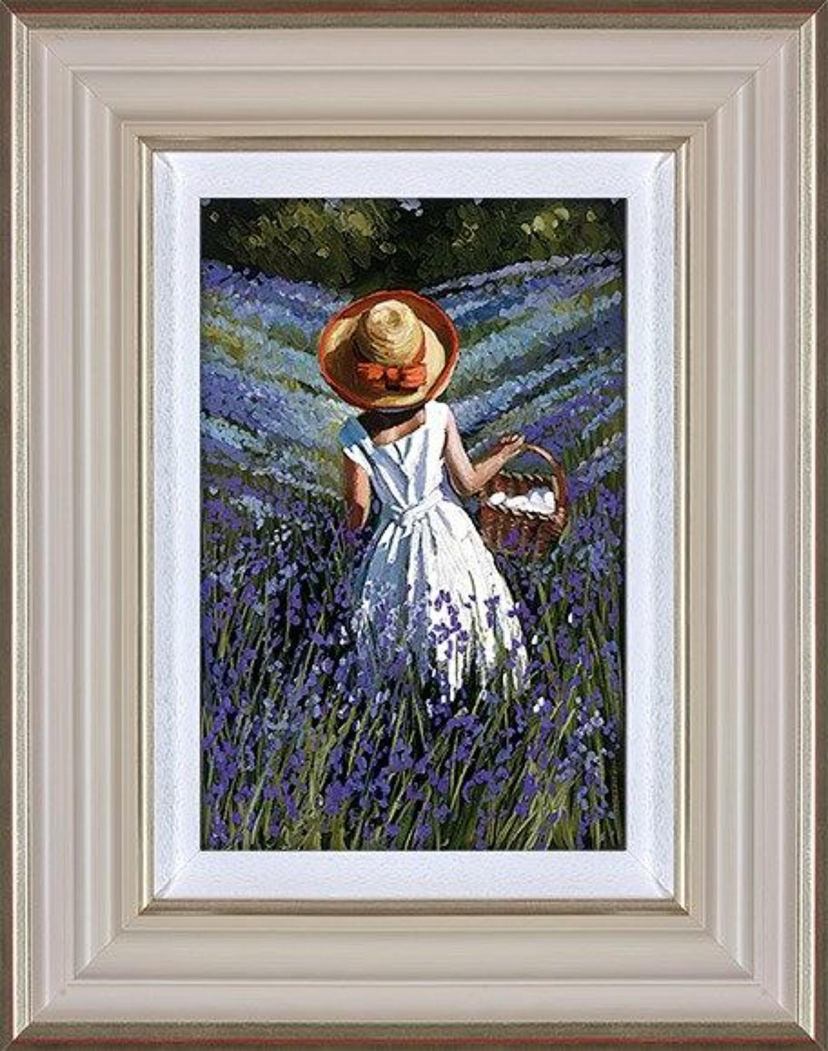 Sherree Valentine Daines Bluebell Haven Framed Canvas Art Print.