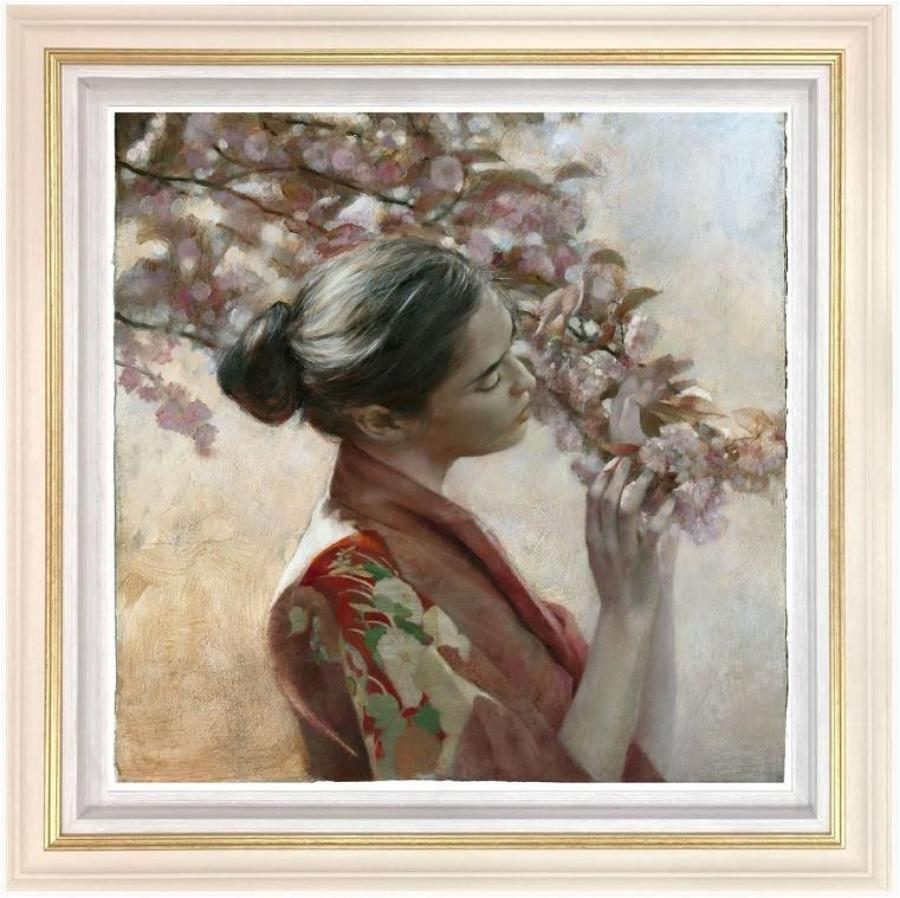 Frailty of Hearts & Flowers By Fletcher Sibthorp Framed Art Print.