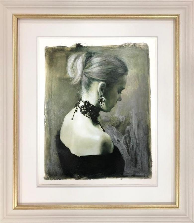 Indigo Nights (Study) By Fletcher Sibthorp Framed Art Print.
