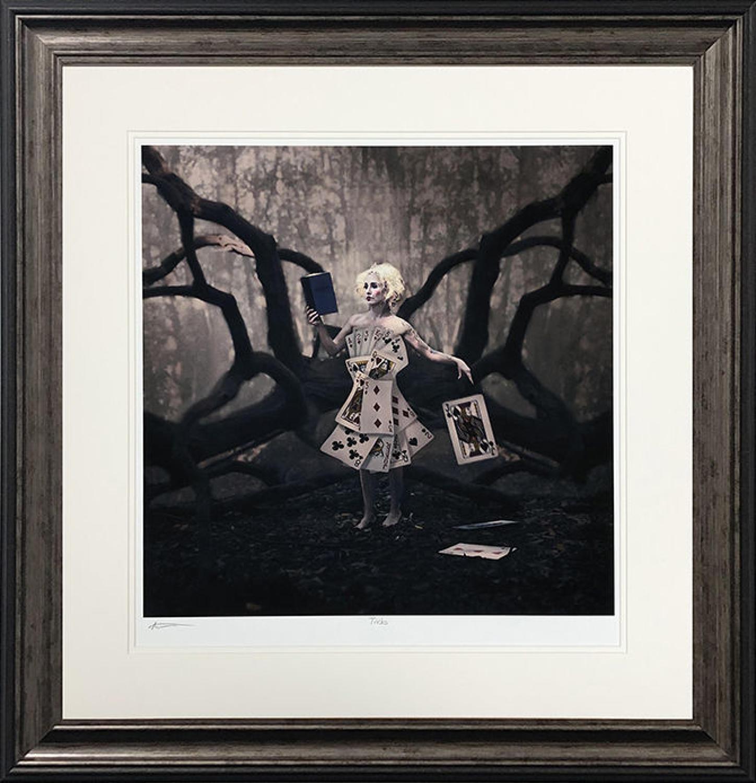 Tricks by Michelle Mackie Framed Art Print