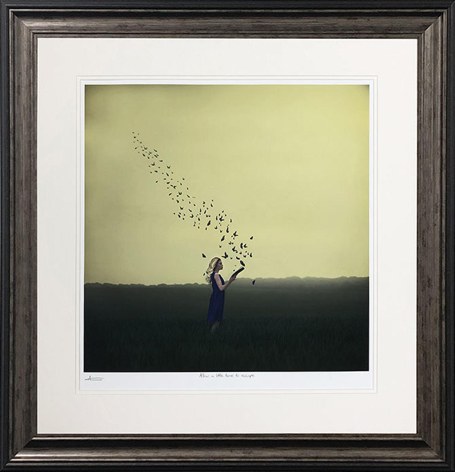 Allow a Little Time to Escape Michelle Mackie Framed Art Print