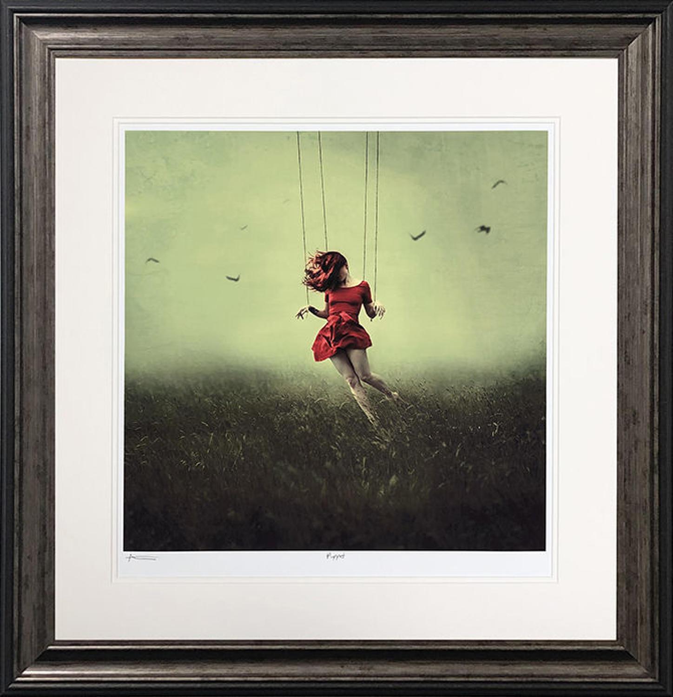 Puppet Michelle Mackie Framed Art Print