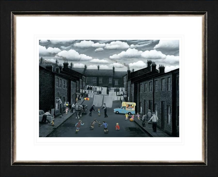 Spring Into Action - On Paper - Leigh Lambert Framed Art Print