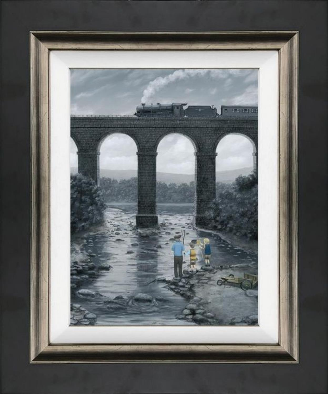 A Great Spot - On Canvas - Leigh Lambert Framed Art Print