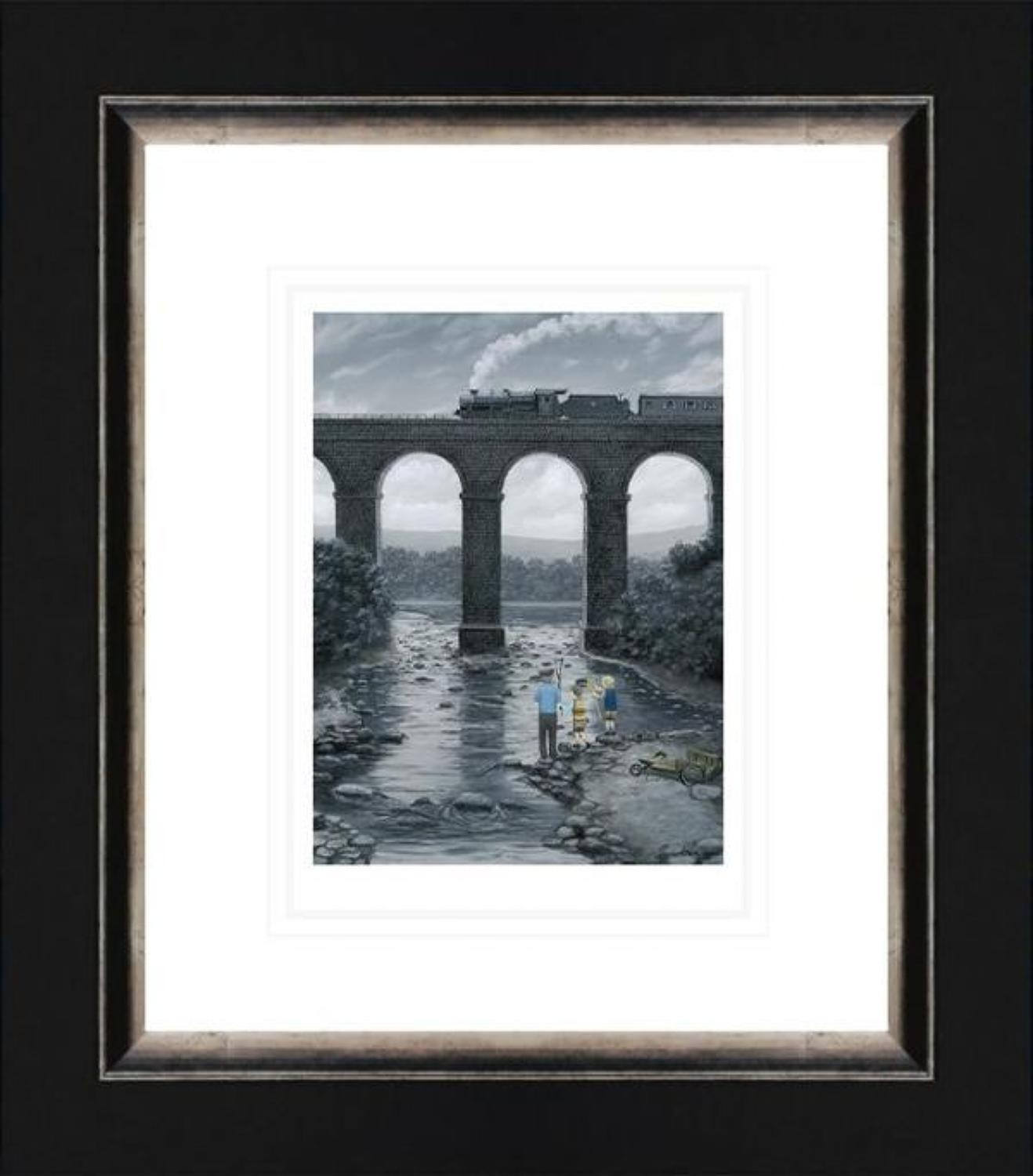 A Great Spot - On Paper - Leigh Lambert Framed Art Print
