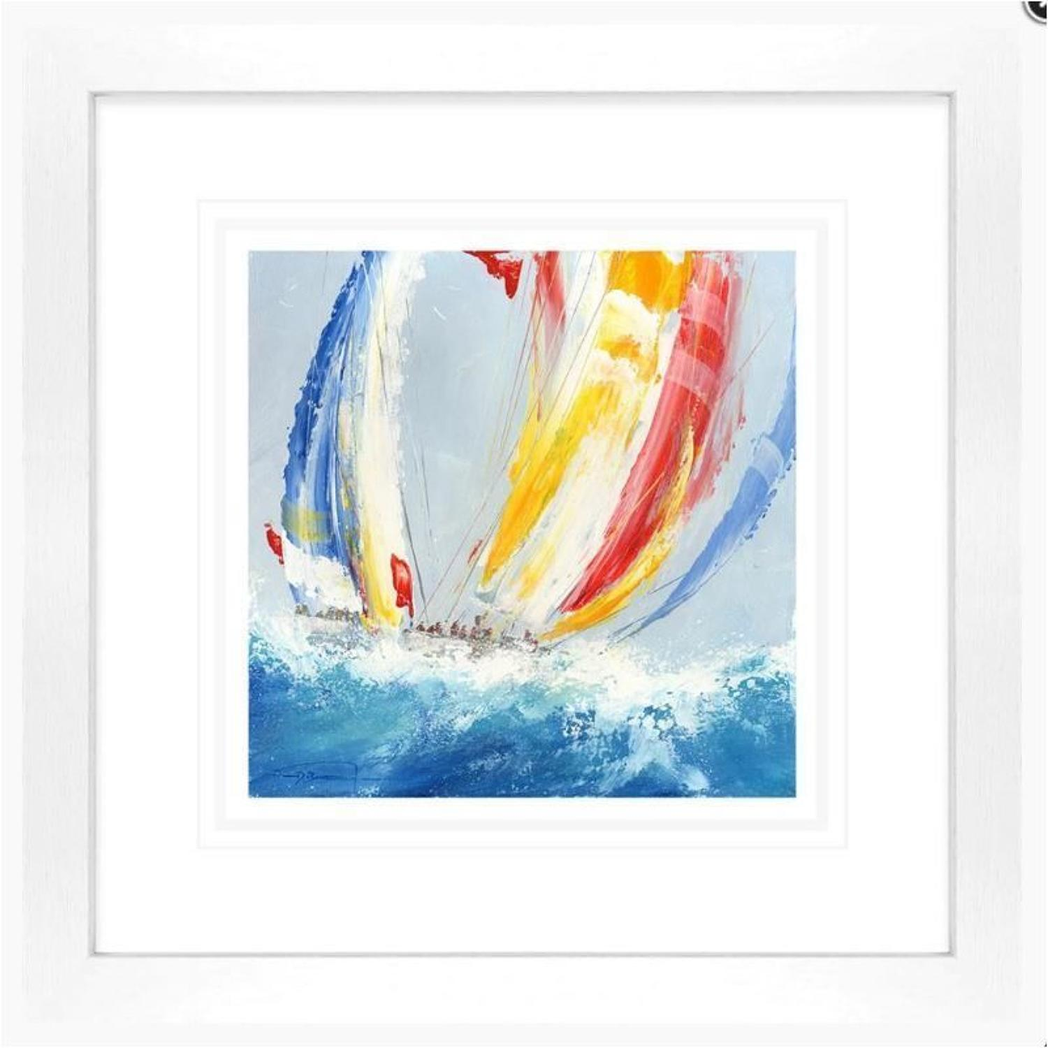 Courage By Dale Bowen Framed Art Print