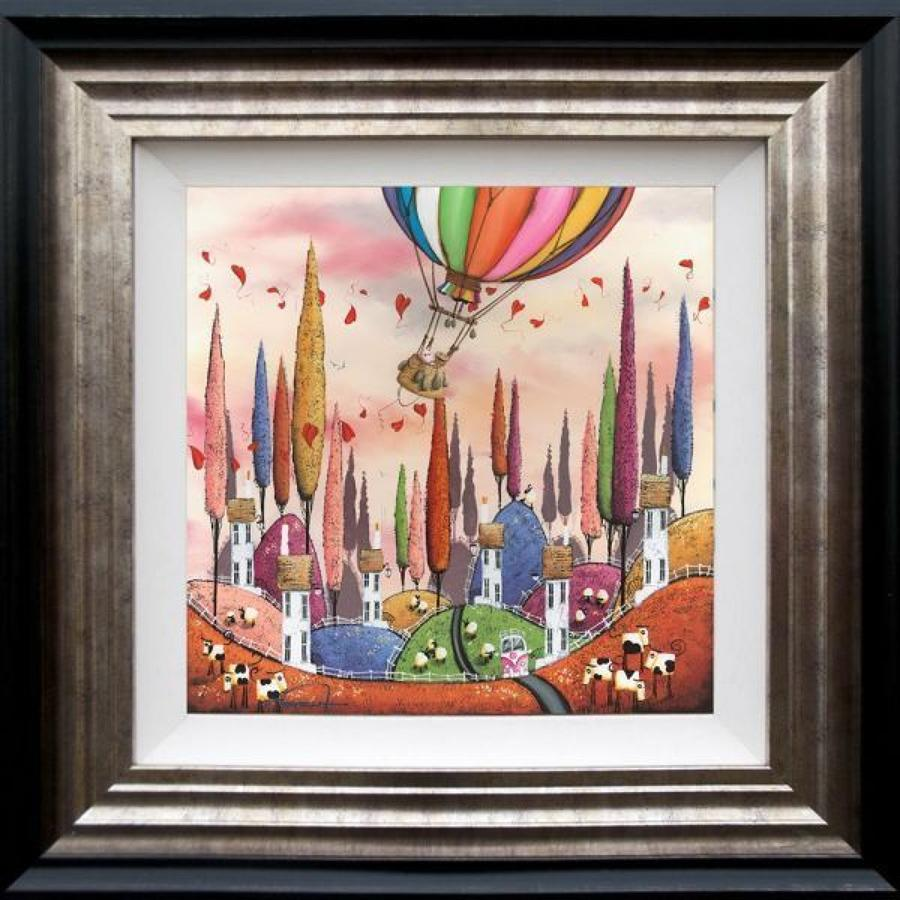 Over The Rainbow By Dale Bowen Framed Art Print