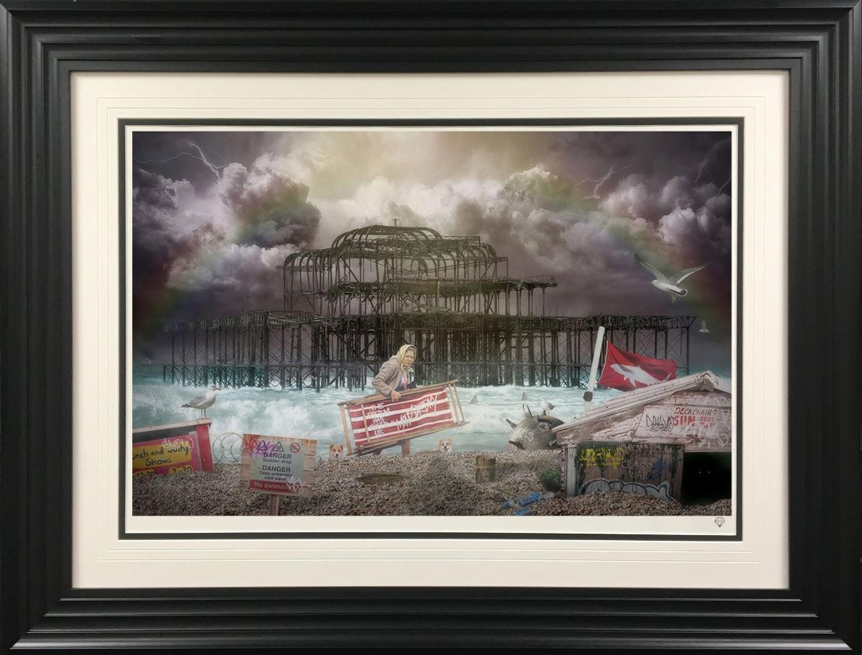 JJ Adams West Pier Framed Art Print